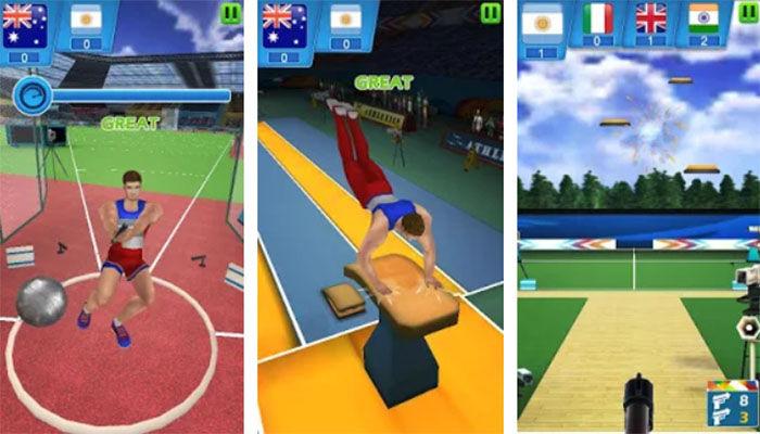 Jogos de esportes de verão para Android