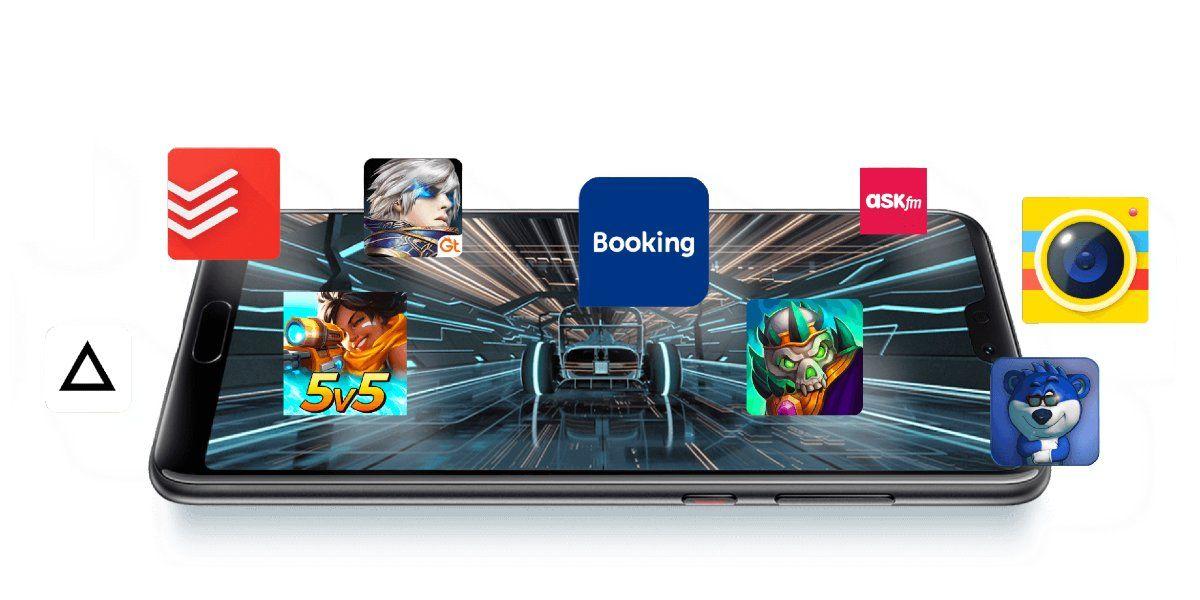 Juegos en la AppGallery de Huawei