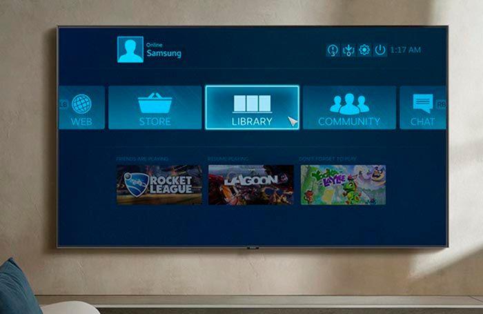 Jugar juegos de Steam en Samsung Smart TV