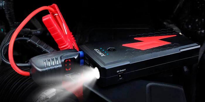 JumTop 2500A el mejor powerbank para encender el coche
