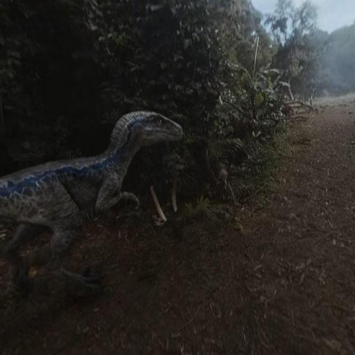 Jurassic World Blue Oculus Go