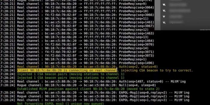 KRACK, la herramienta capaz de hackear redes WiFi con WPA2