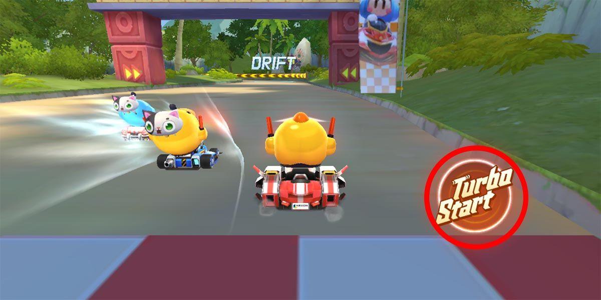 Kart Rider Rush+ Turbo Start