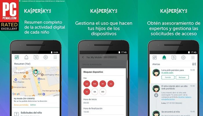 Kaspersky SafeKids app