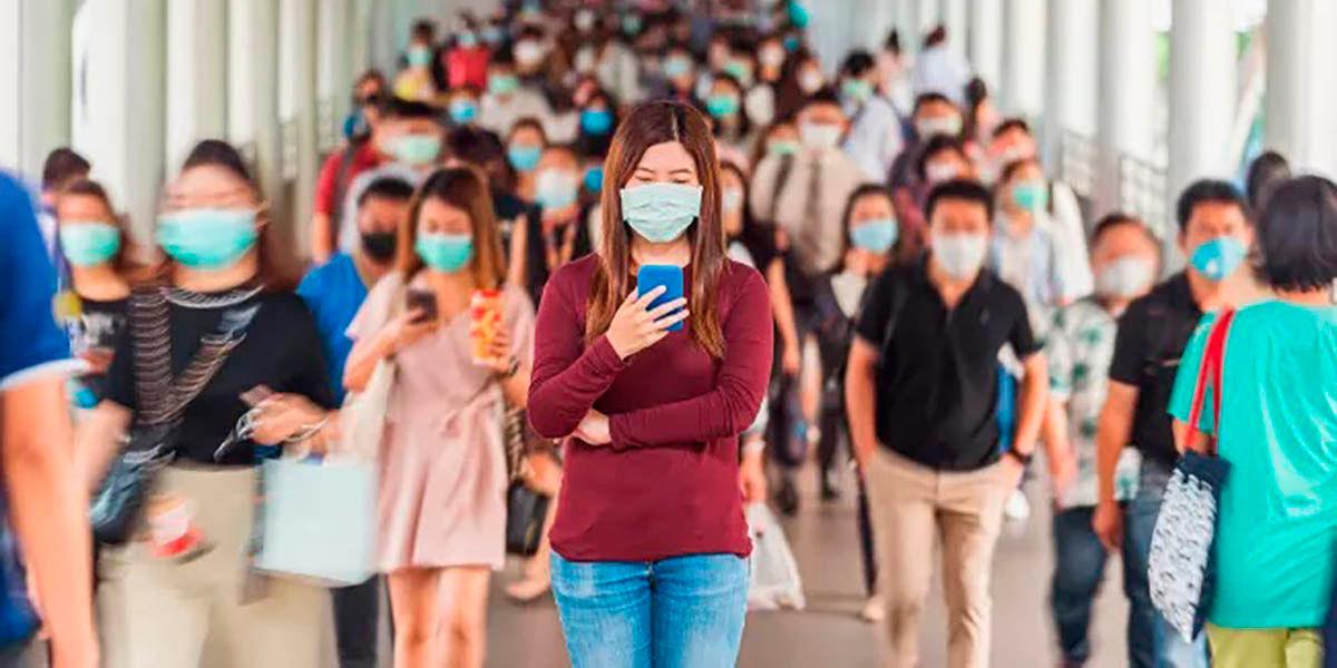 KeepUsSafe app para si hay mucha gente en un lugar