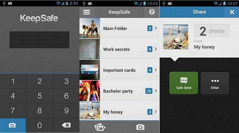 Keepsafe para Android