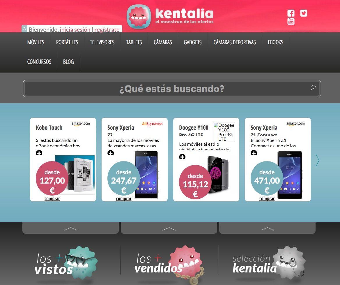 Kentalia comparador de precios