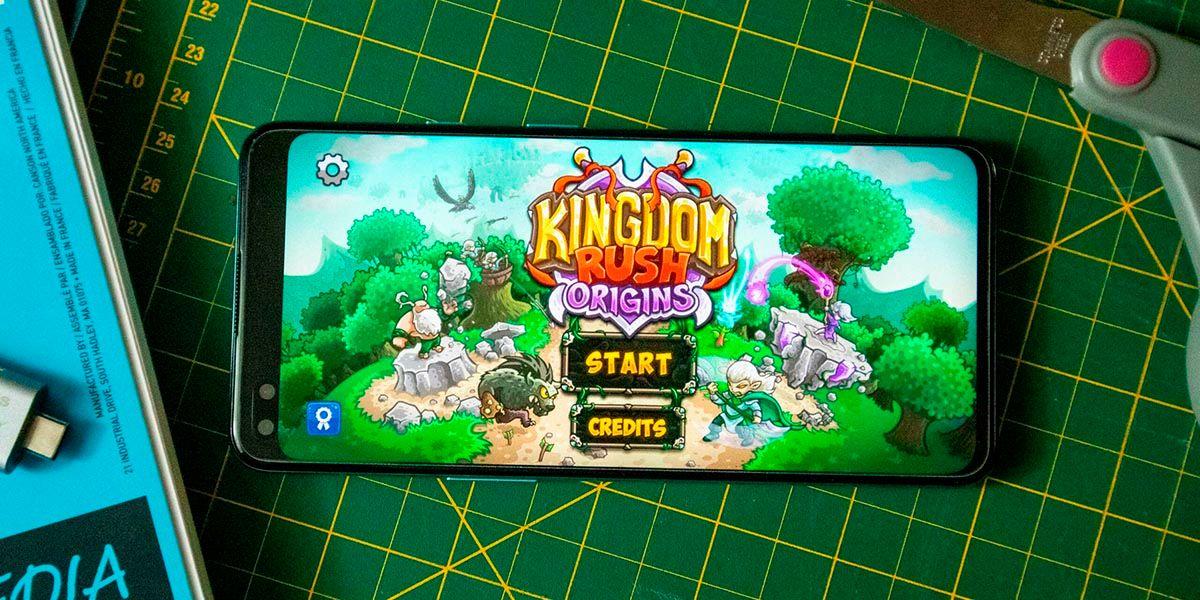 Kingdom Rush mejor juego de torres de defensa Android