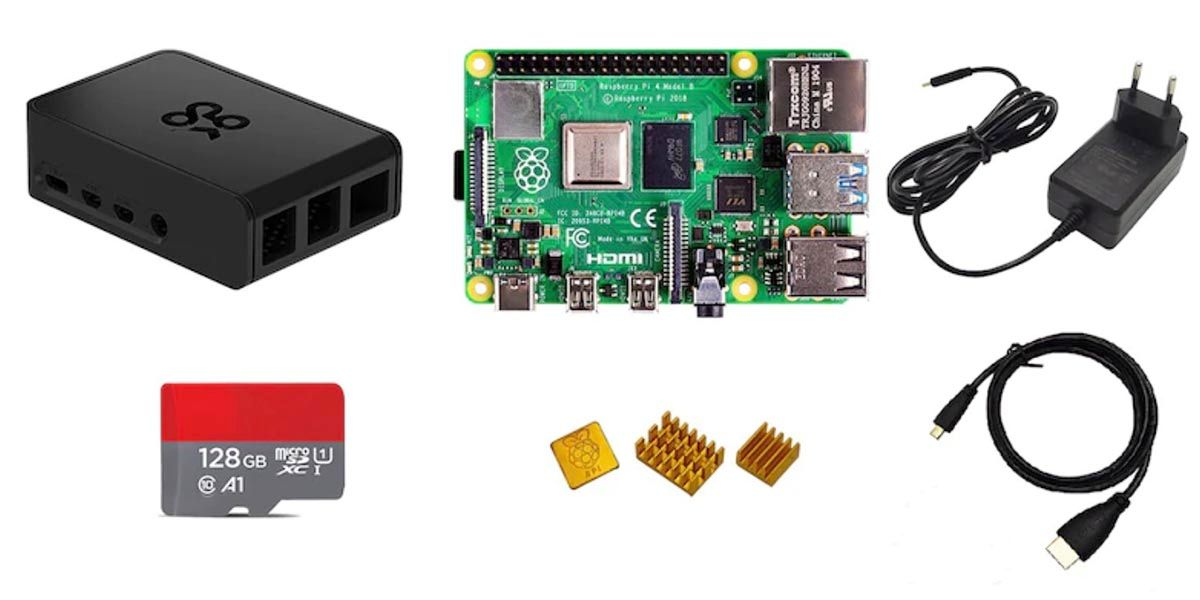 Kit Raspberry Pi 4