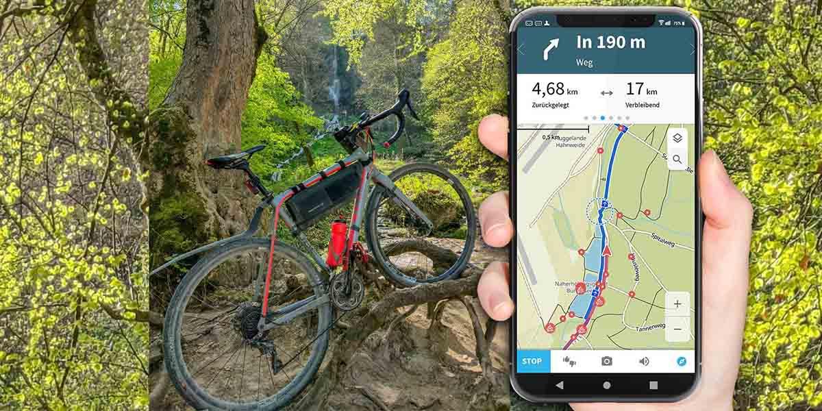 Komoot, la app para ciclistas, senderistas y corredores