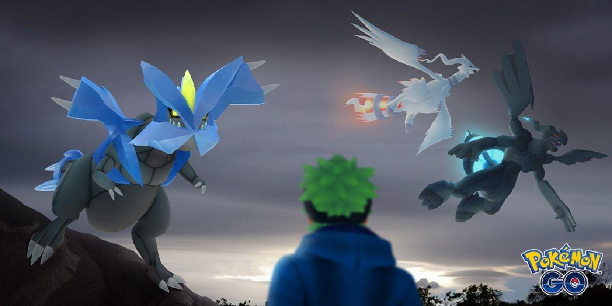 Kyurem, el pokemon legendario de las incursiones de cinco estrellas