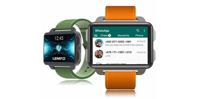 LEMFO LEM 4 con WhatsApp
