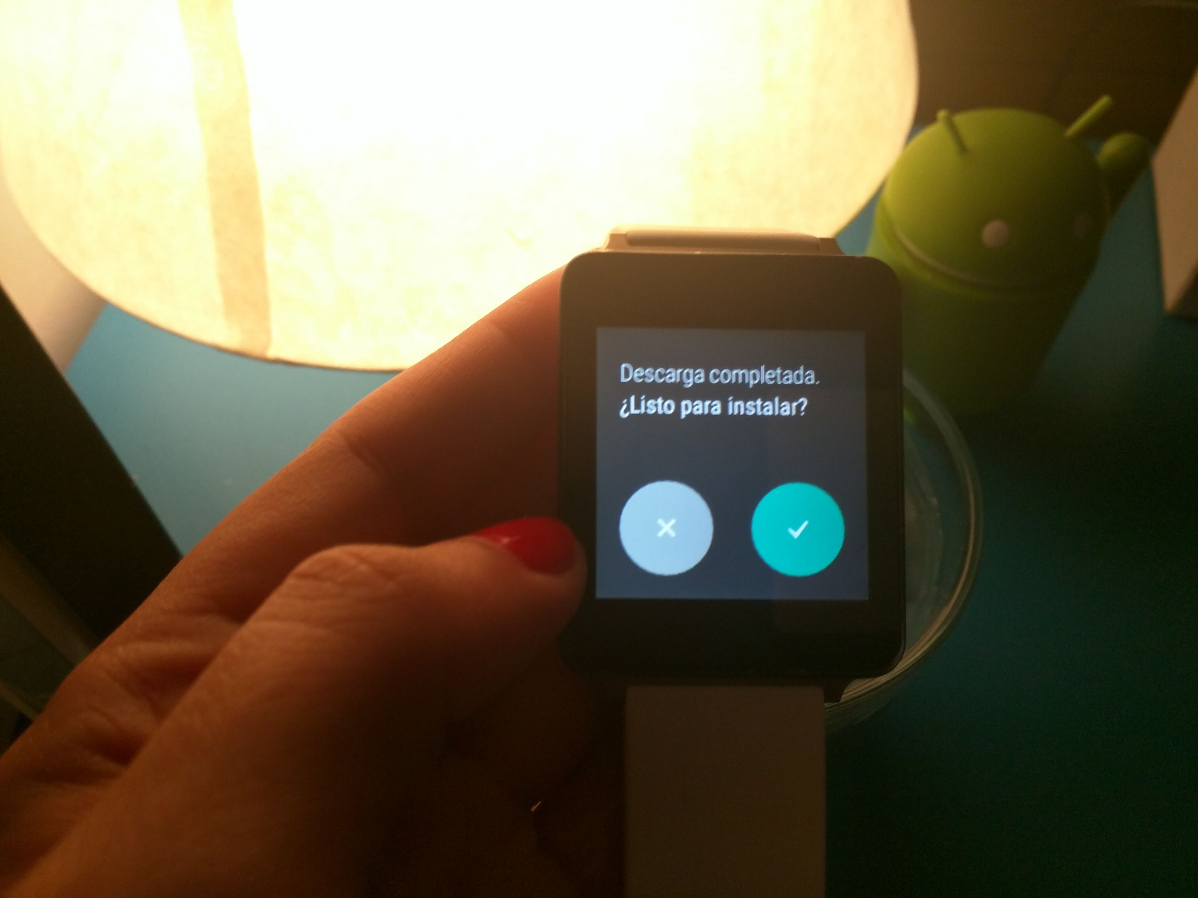 LG G Watch a Android Wear 1.3