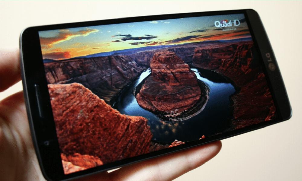 LG G3 pantalla Quad HD
