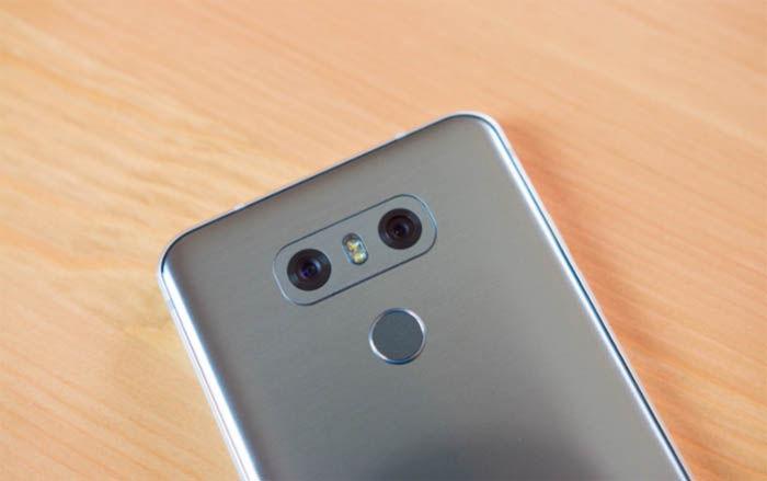LG G6 lector de huellas