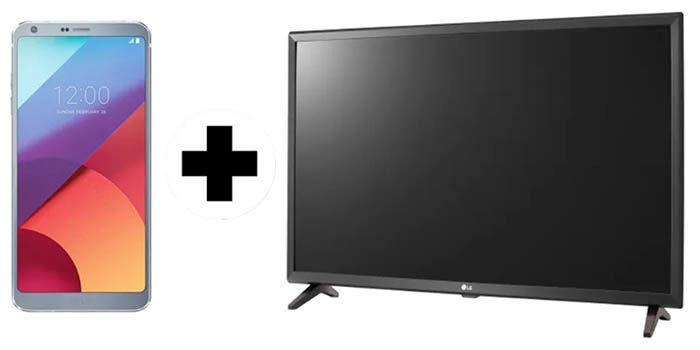 LG G6 mas TV 4k de regalo