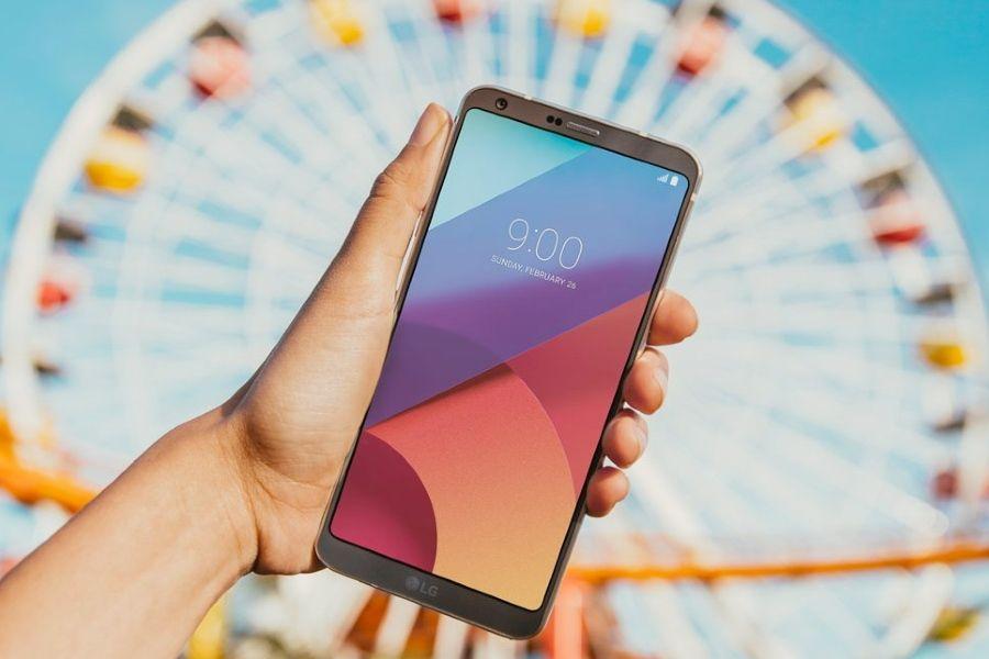 LG G6 pantalla más alta y estrecha