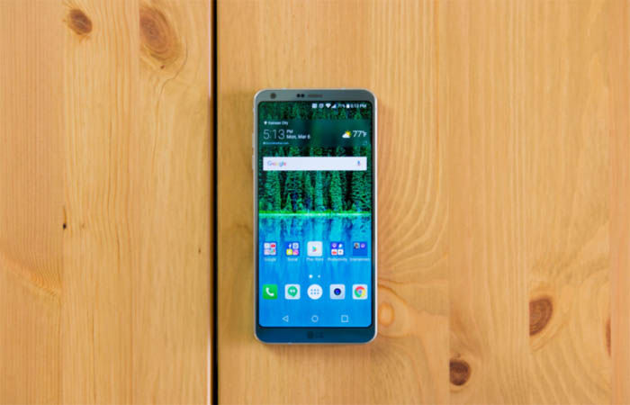 LG G6 problema de conectividad