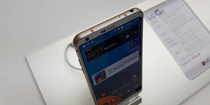 LG G6 problemas bateria