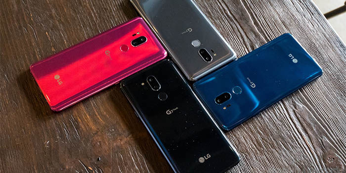 LG G7 ThinQ colores