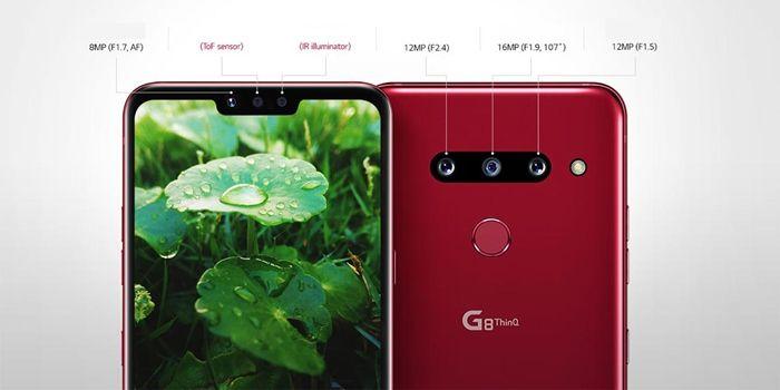 LG G8 ThinQ camaras y pantalla