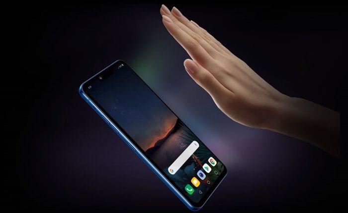 LG G8 ThinQ controlar con la mano