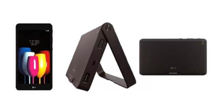 LG GPad X2 8 0 Plus con el Dock