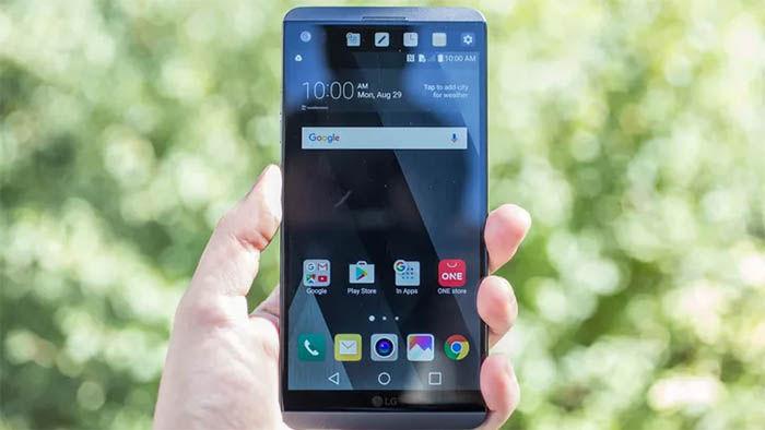 LG V20 pantalla