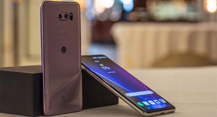 LG V30 color morado