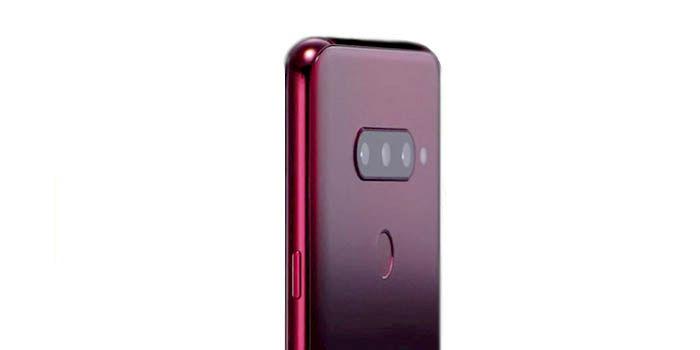 LG V40 con 5 cámaras