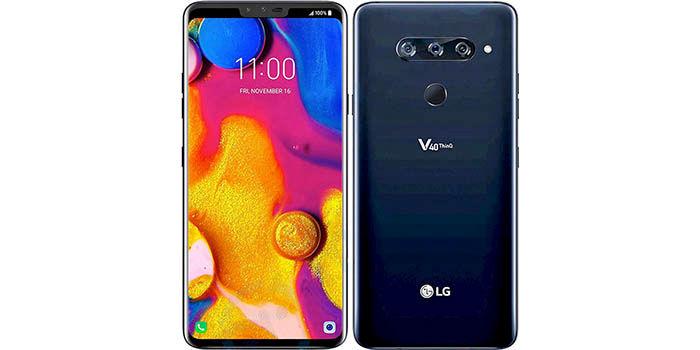 LG V40 diseño final
