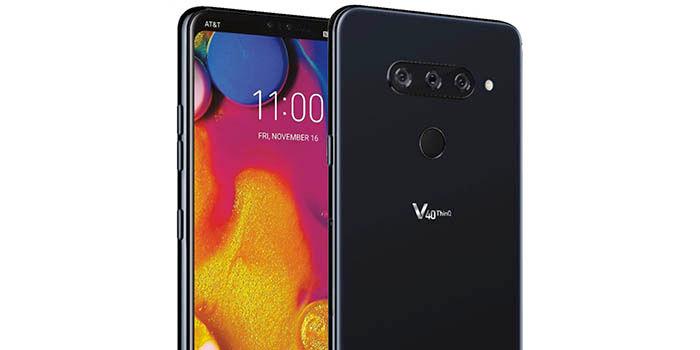LG V40 render oficial