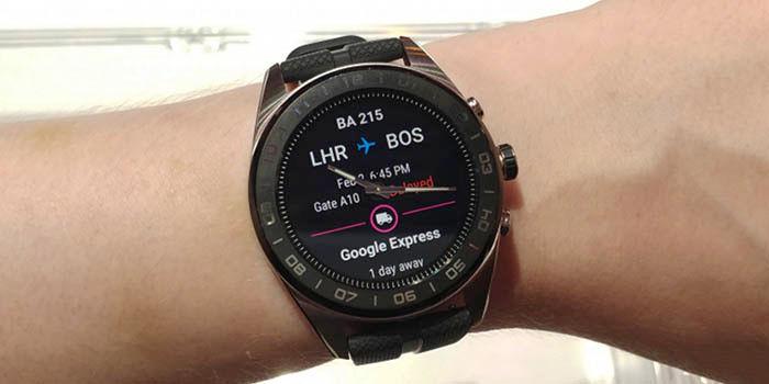 LG Watch W7 características