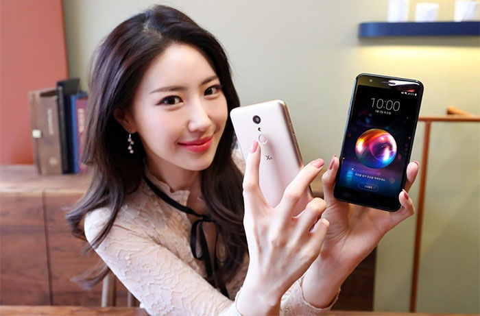 LG X4 dorado