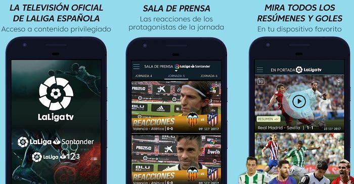 La Liga TV app