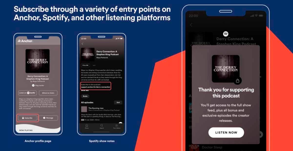 La app anunció la llegada de Spotify Open Access Platform y Spotify Audience Network