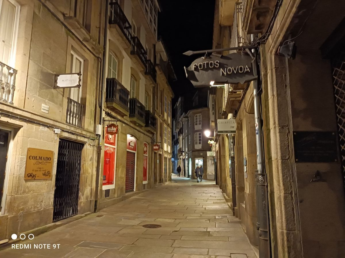 La calle de noche