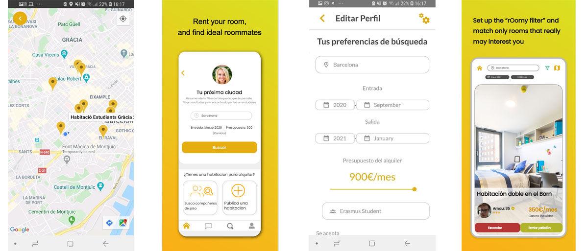 La mejor app para encontrar compañeros para compartir piso del año