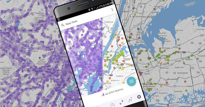 La mejor cobertura 3G y 4G para el movil
