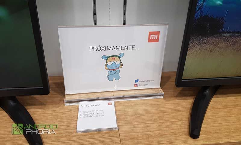 Lanzamiento TV Xiaomi Espana