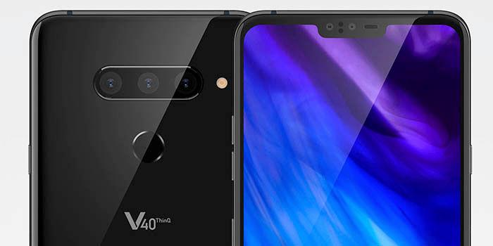 Lanzamiento del LG V40
