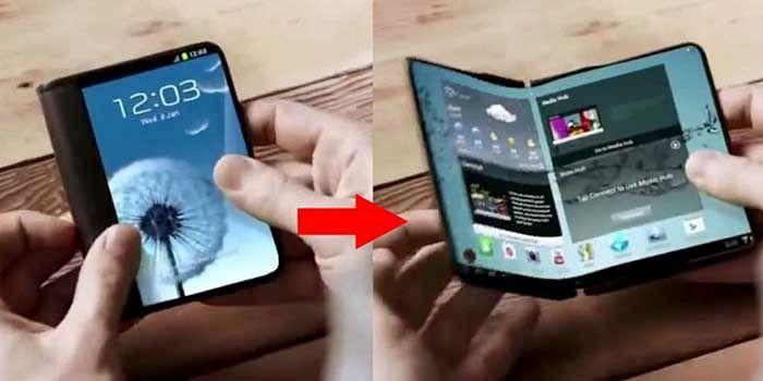 Lanzamiento smartphone plegable Samsung