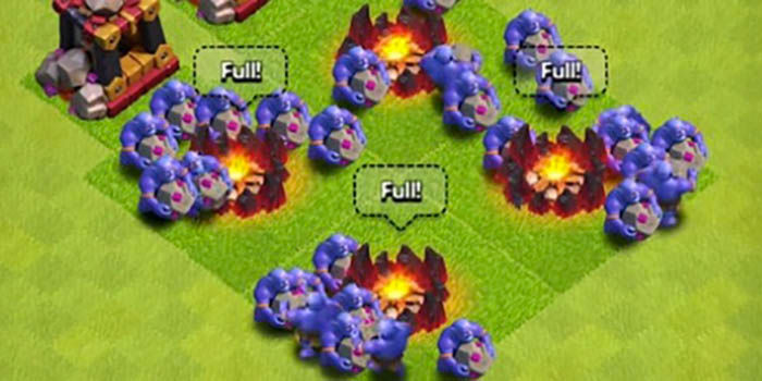 Lanzarrocas Clash of Clans