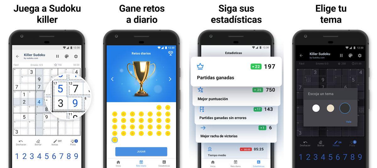 Las 5 mejores apps gratis para hacer Sudokus en tu móvil Android