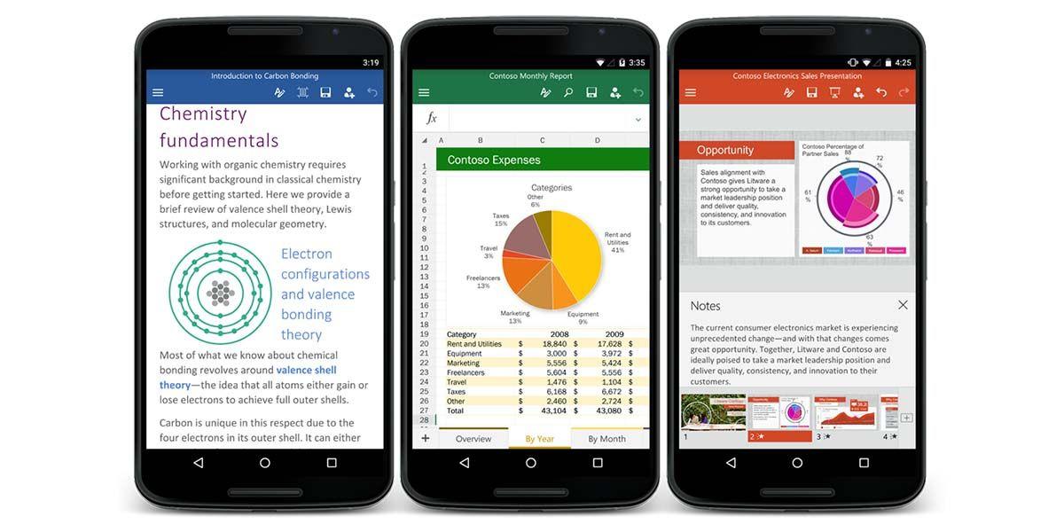 Suite de Google para Android