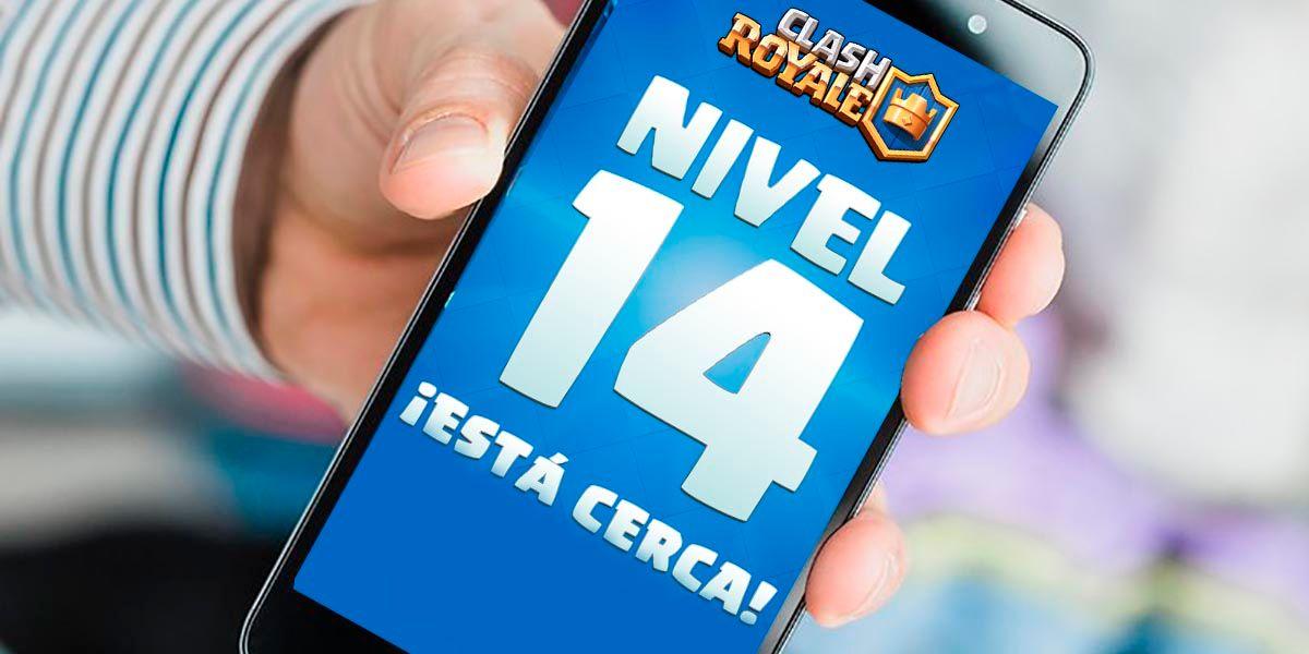 Las cartas de Clash Royale se actualizan al nivel 14