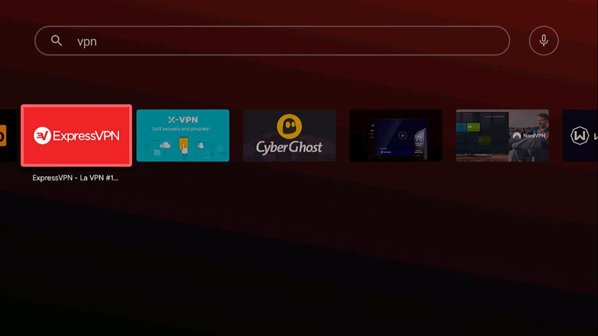 Las mejores VPN para Android TV