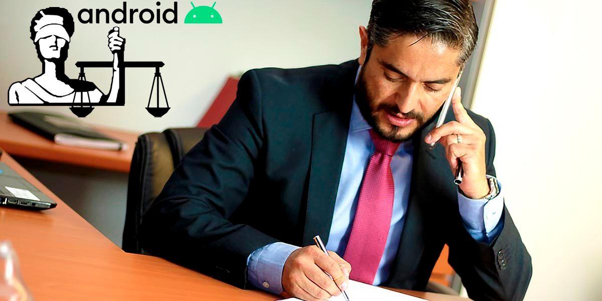 Las mejores aplicaciones de abogados para Android