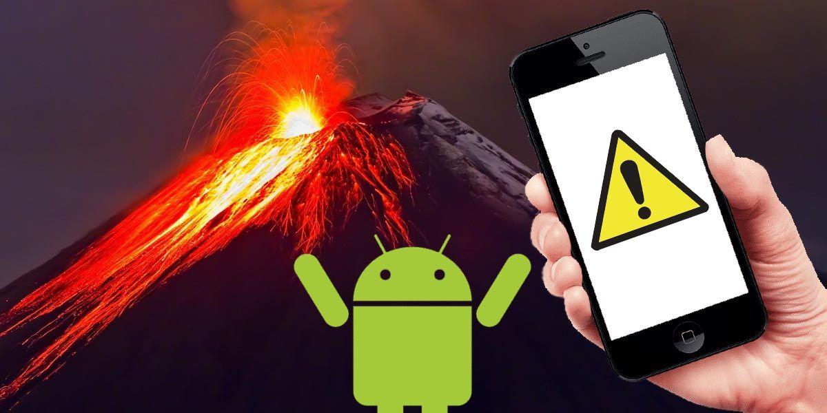 Las mejores apps de Android para detectar volcanes