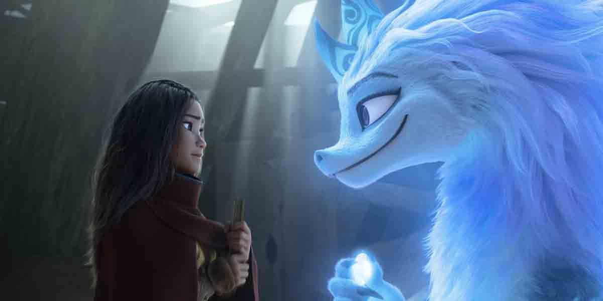 Las mejores películas originales Disney Plus Raya y el último dragón